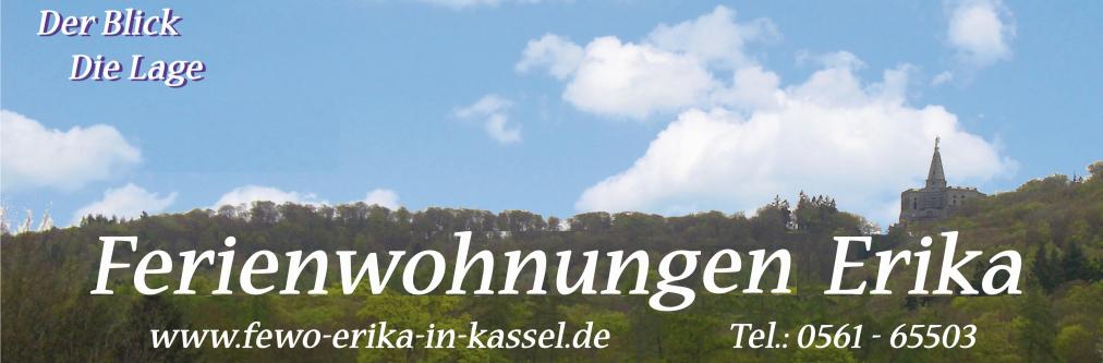 Der Blick - Die Lage - 85 m² - 4 Personen - Ferienwohnung Erika in Kassel